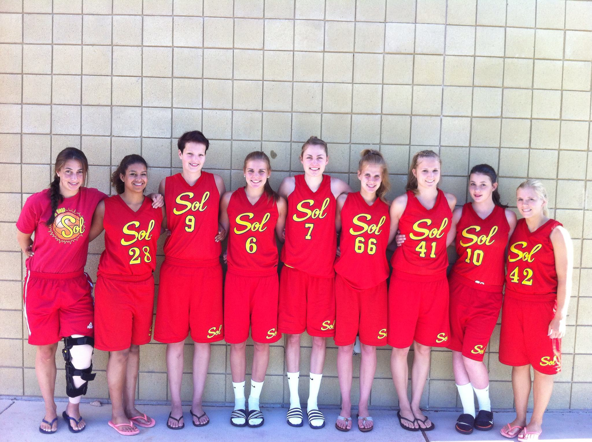 German Travel Team Basketball 2012