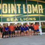 Unser ABC Travel Team im Sommer 2014 zu Besuch an der Point Loma Nazarene University
